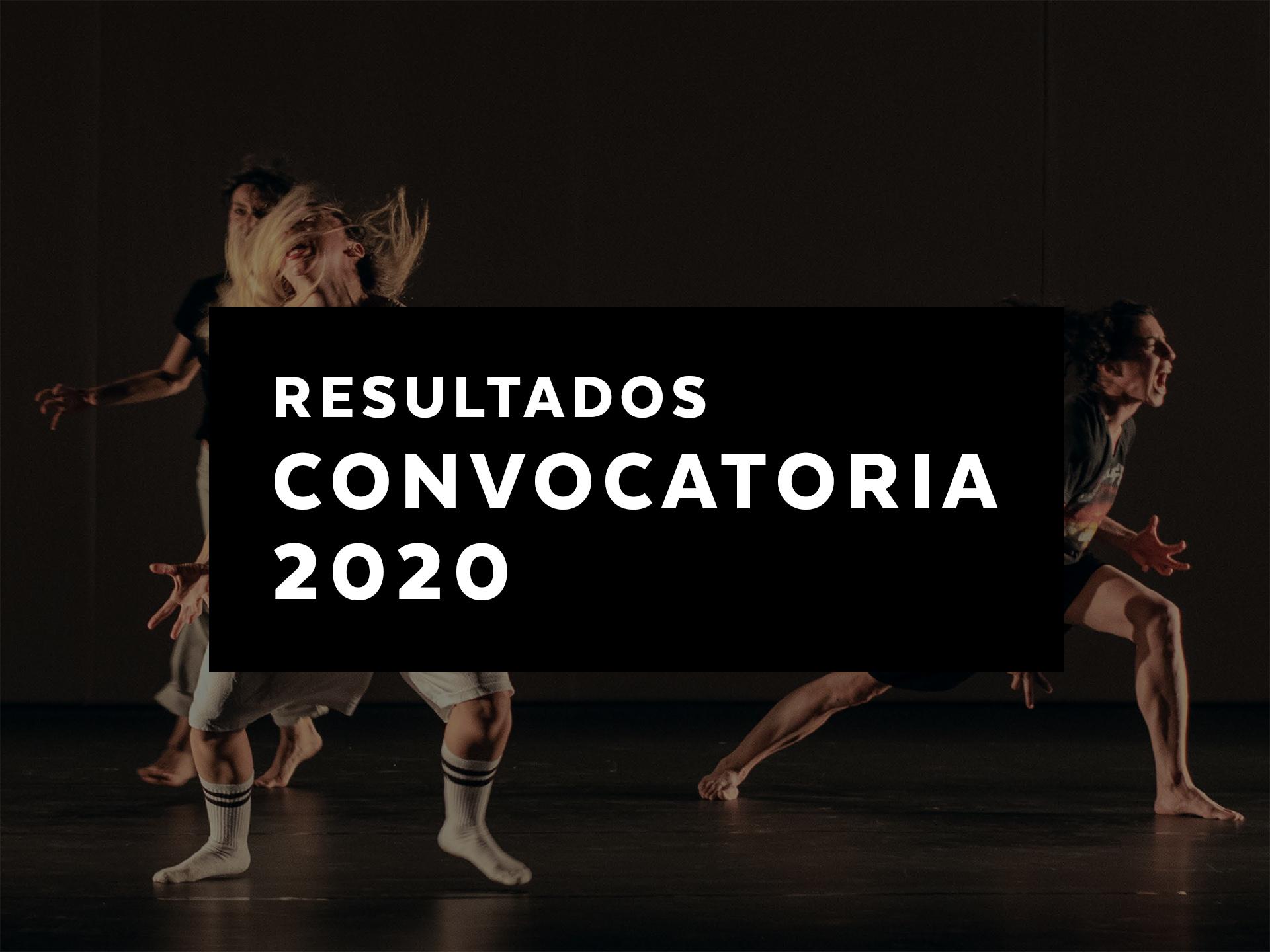 Resultados Convocatoria 2020