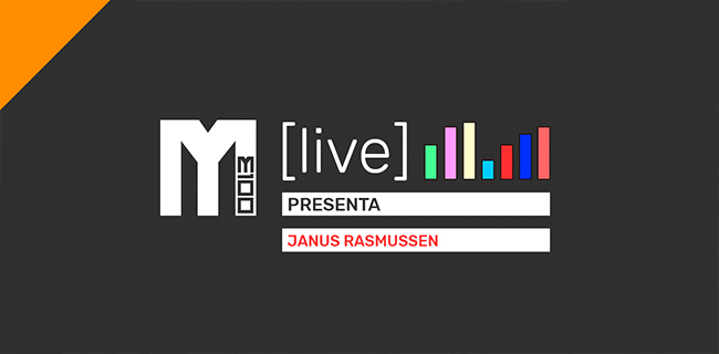 M (Live) Presenta: Janus Rasmussen
