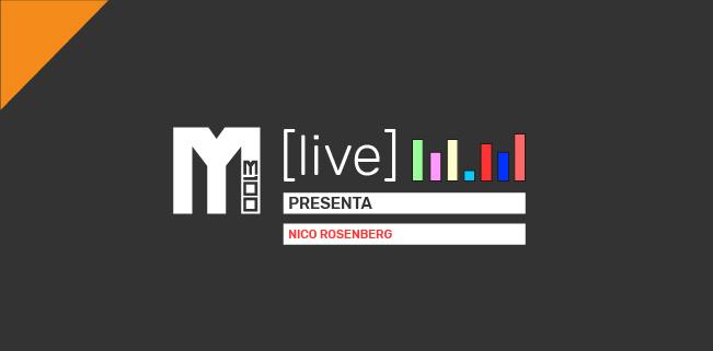 M(Live) Lanzamiento: Music Holds Us de Nico Rosenberg